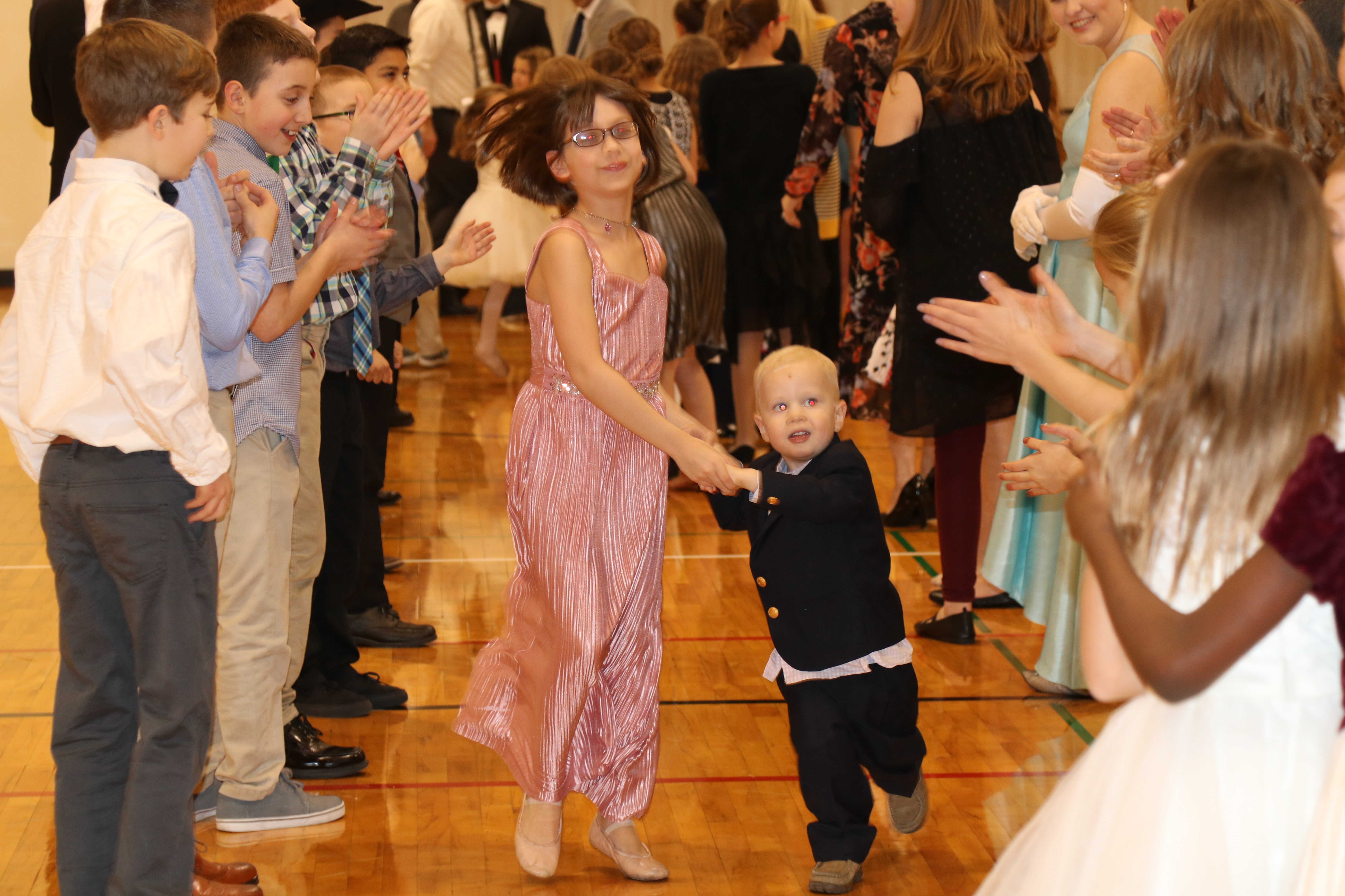 Family fun at the Spring Dance